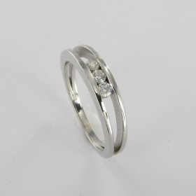 Bague Solitaire Or & Diamant   Diamant 0.15 Carat