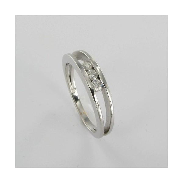 Bague Solitaire Or & Diamant   Diamant 0.15 Carat