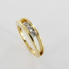 Bague Solitaire Or & Diamant Diamant 0.27 Carat