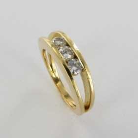 Bague Solitaire Or & Diamant Diamant 0.54 Carat