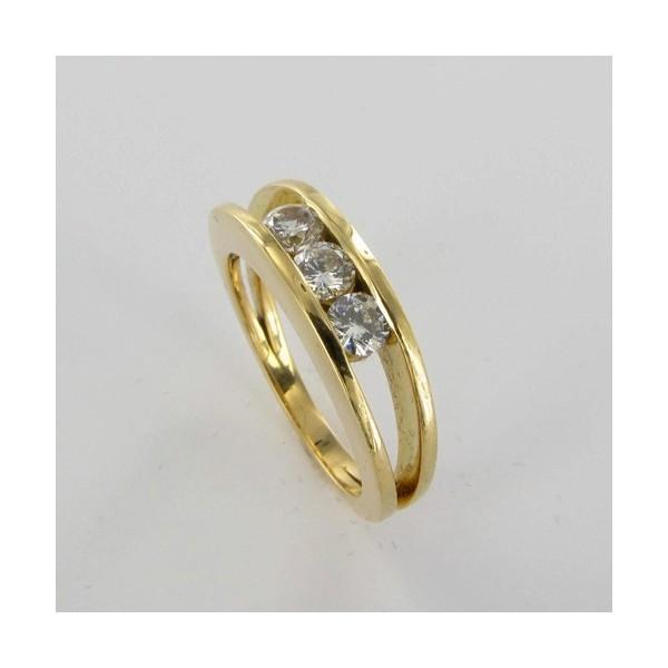 Bague Solitaire Or & Diamant   Diamant 0.54 Carat