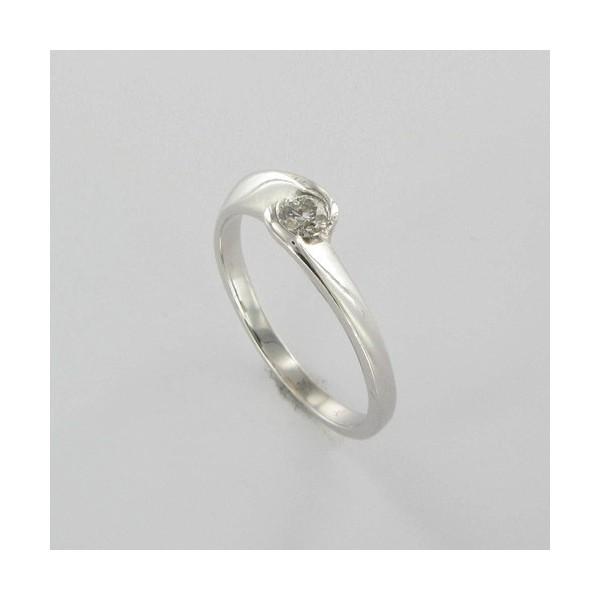 Bague Solitaire Or & Diamant   Diamant 0.17 Carat