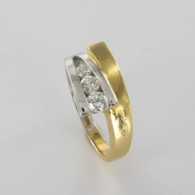 Bague Solitaire Or & Diamant Diamant 0.36 Carat