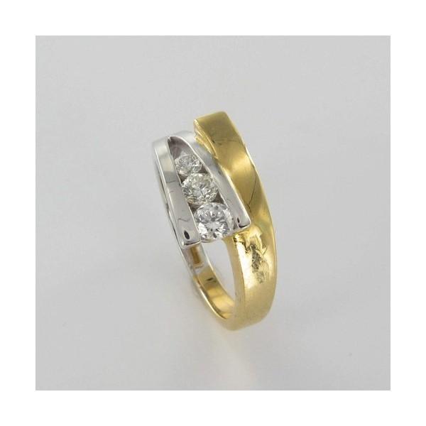Bague Solitaire Or & Diamant   Diamant 0.36 Carat