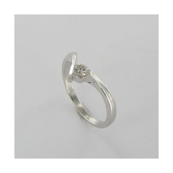 Bague Solitaire Or & Diamant   Diamant 0.11 Carat