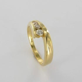 Bague Solitaire Or & Diamant Diamant 0.24 Carat