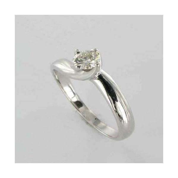 Bague Solitaire Or & Diamant   Diamant 0.22 Carat