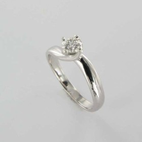 Bague Solitaire Or & Diamant Diamant 0.28 Carat
