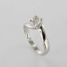Bague Solitaire Or & Diamant Diamant 0.38 Carat