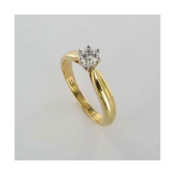 Bague Solitaire Or & Diamant   Diamant 0.25 Carat