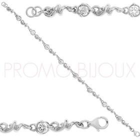 Bracelet Charles Jourdan Argent