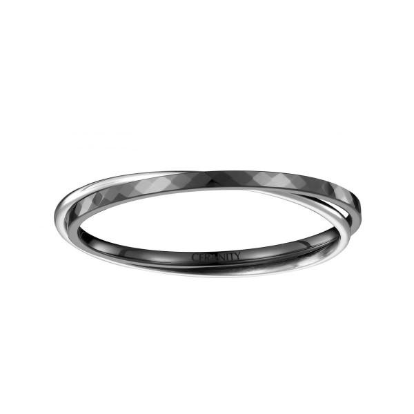 Bracelet Céramique Noire