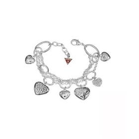 GUESS Bijoux Bracelet - Bracelet Guess Coeurs Strass