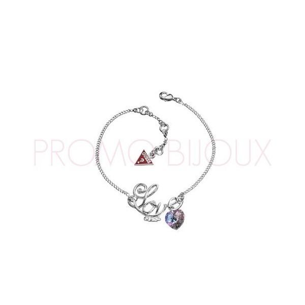 Bracelet Guess Love Coeur Cristal