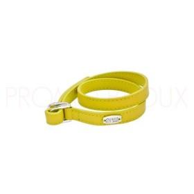 Bracelet Guess Color Chic en Cuir Jaune