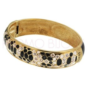 Bracelet Guess Métal doré Rigide Python