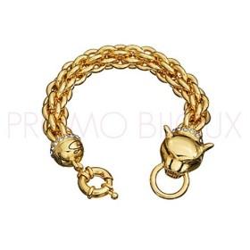 Bracelet Guess Métal doré Cougar