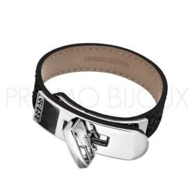Bracelet Guess Métal G Turn Rhodié