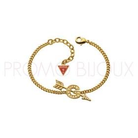 Bracelet Guess doré flêche en plein G