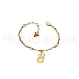 Bracelet Guess Métal doré - Lettre G