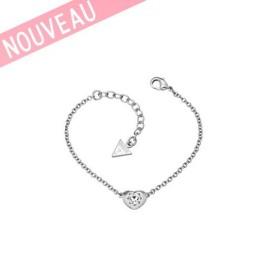 Bracelet Guess Métal Argenté Rhodié -Crystals Of Love