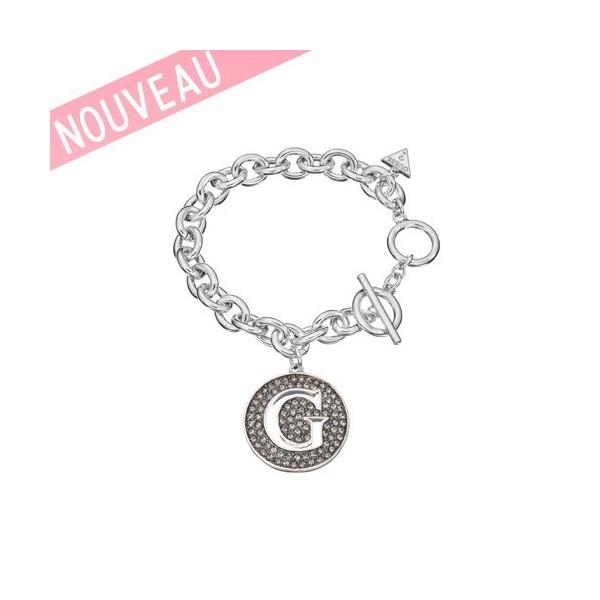 Bracelet Guess Métal Argenté Rhodié - G Girl