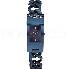 Montre Guess avec rabat Ip Bleu - Pop Icon