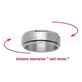 Alliance Acier Anti-stress pour Homme