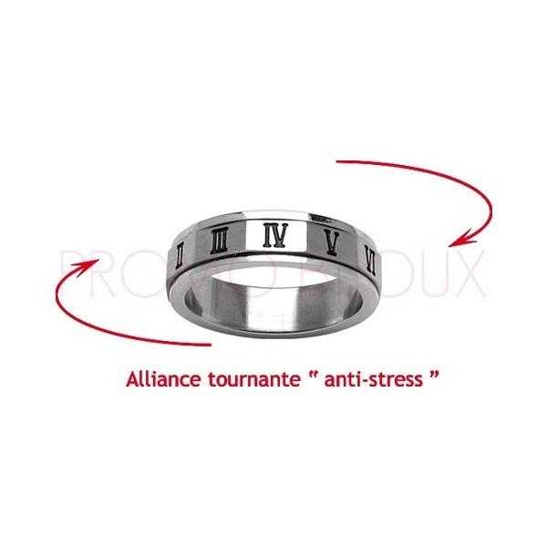 Alliance Acier Anti-tre pour Homme