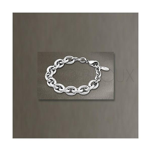 Bracelet Lotus Style Acier Chaine