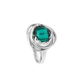 Bague Jourdan Argent - Perle de Murano verte