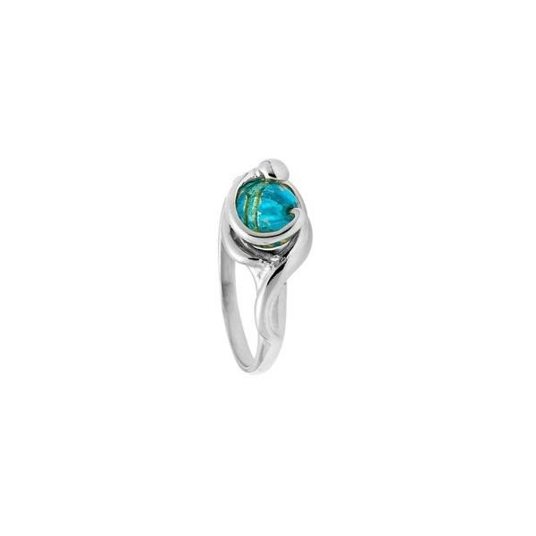 Bague  Jourdan Argent - Perle de Murano bleue