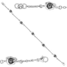 Bracelet  Jourdan Argent avec boule en hématite
