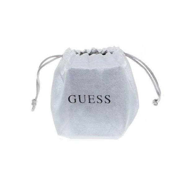 Bracelet GUESS love argenté rhodié avec cristaux rose pâle