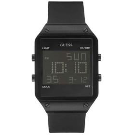 Montre Guess digital silicone noir pour homme W0595G1