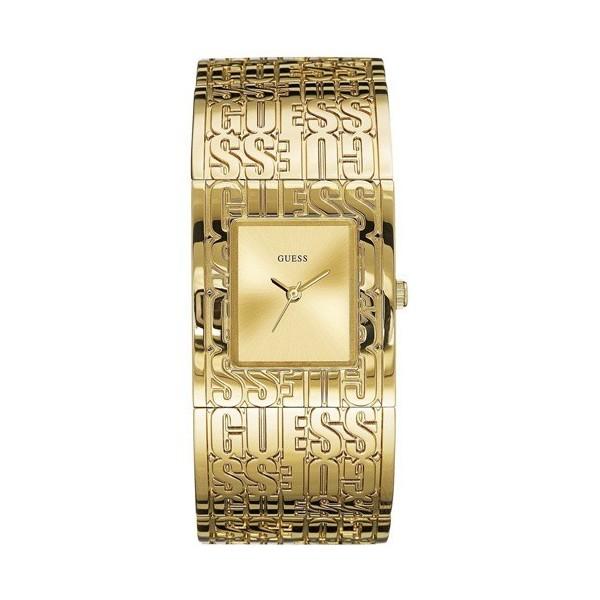 Montre Guess femme bracelet rigide en acier argenté  W0577L1