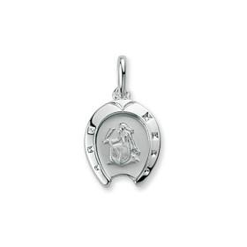 Pendentif zodiacque en argent Vierge