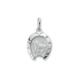 Pendentif zodiacque en argent Lion