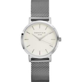 Montre Rosefield bracelet milanais gris pour femme