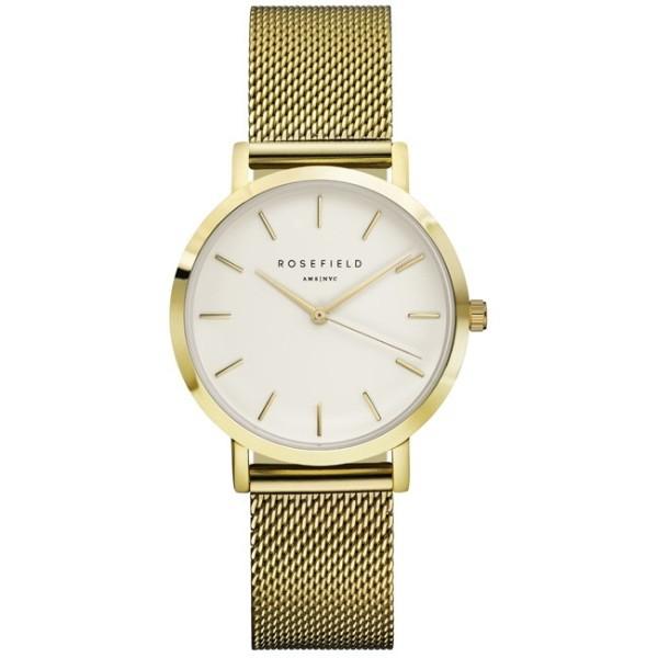 Montre Rosefield bracelet milanais doré pour femme
