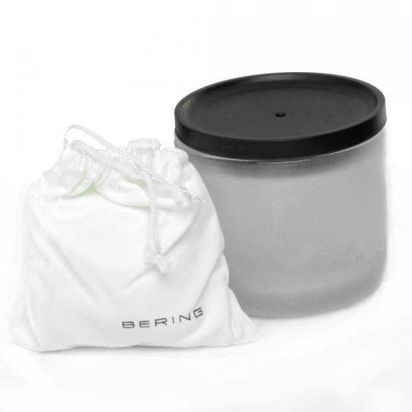 Montre en céramique extra plate noire pour hommes Bering
