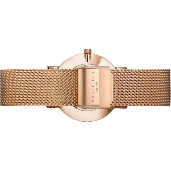 Bracelet montre Rosefield rose gold pour femme