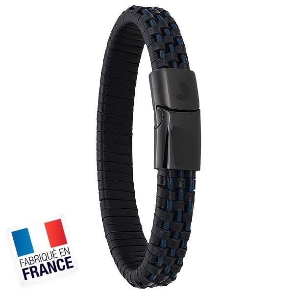 Bracelet Jourdan Homme - Acier et or noir - Longueur 18,5cm