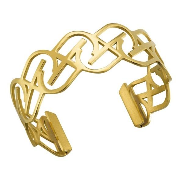 Bracelet Jourdan Jiji en acier doré