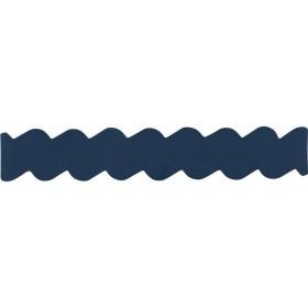 Accessoire bracelet Jourdan Jiji en cuir bleu marine
