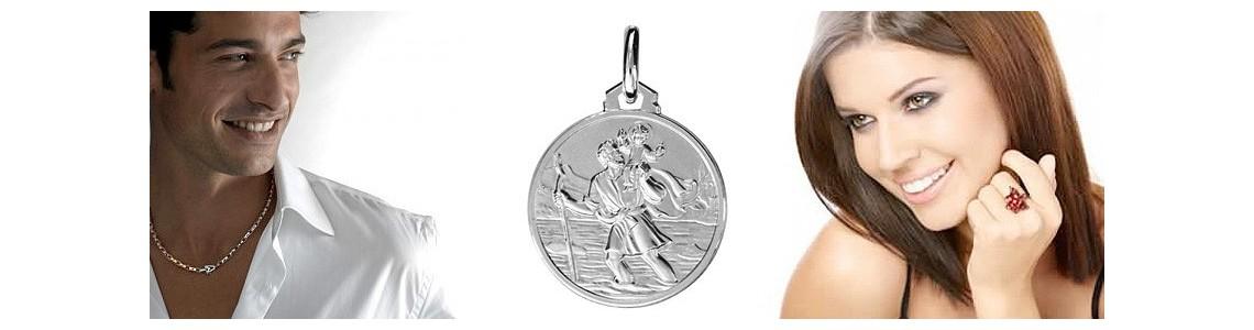 Médailles saint Christophe