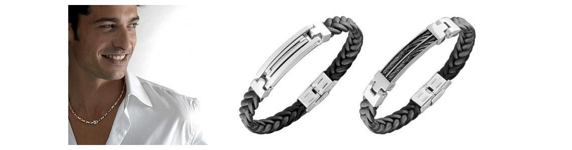 Bracelets acier hommes